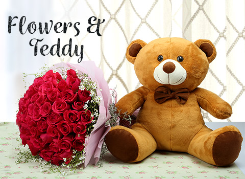 Flower & Teddy