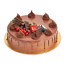 4 Portion Fudge Cake: New Year Gifts