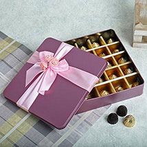 Assorted Square Shape Chocolates: Best Gifts