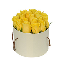 Captivating Yellow Rose Arrangement: New Arrival Gifts