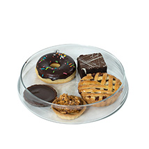 Exquisite Tart N Brownie Platter: New Year Gifts