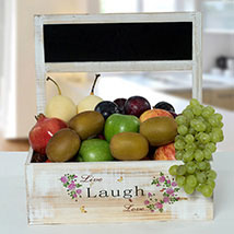 Hamper Of Healthy Fruits: Gift Hampers