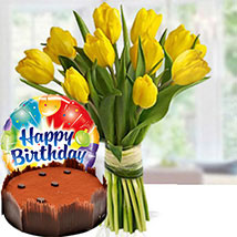 Happier Times: Flowers & Cakes
