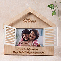 Hut Shaped Personalized Frame: Personalised Gifts
