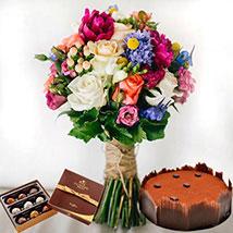 Lavish Combo: Flowers & Cakes