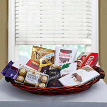 Luxurious Choco Hamper: Gift Hampers
