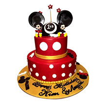 Minnie and Mickey Mouse Cake: Designer Cakes  Delivery