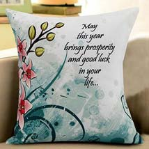 New Year Luck Cushion: New Year Gifts