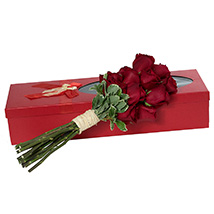 Passionate Red Roses Bouquet: New Arrival Gifts in Dubai