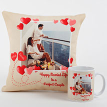 Perfect Love Personalized Combo: Personalised Gifts
