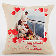 Perfect Love Personalized Cushion: Personalised Gifts