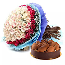 Perfect Present: Flowers & Cakes