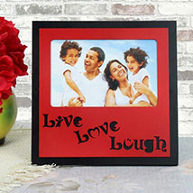Personalized Live Love Lough Frame: Personalised Gifts
