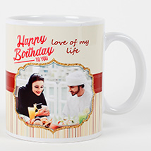 Romantic Birthday Personalized Mug: Personalised Gifts