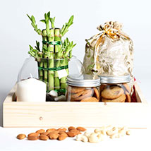 Snack Treat with Bamboo: Edible Gifts