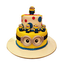 World of Minions Cake: Designer Cakes  Delivery
